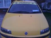 2001 yellow fiat punto sporting brand new 2 year nct