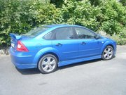05 focus saloon with body kit and spoiler